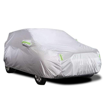 Car-Cover Heat-Protection Sunscreen Dustproof SUV with Reflective-Strip Anti-Uv Scratch-Resistant