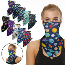 Scarf Print-Bandana Facemask Planet Motorcycle Neck Adult Headwear Gaiter-Tube Space