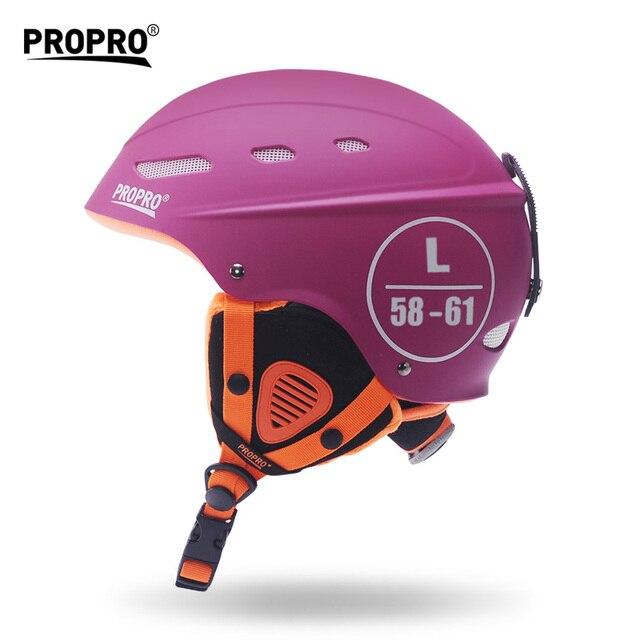 PROPRO Outdoor Safety Helmet for Skiing Snowboard Skating Adult Men Women Winter Ski Helmets for Sale Black White Size Adjust 1