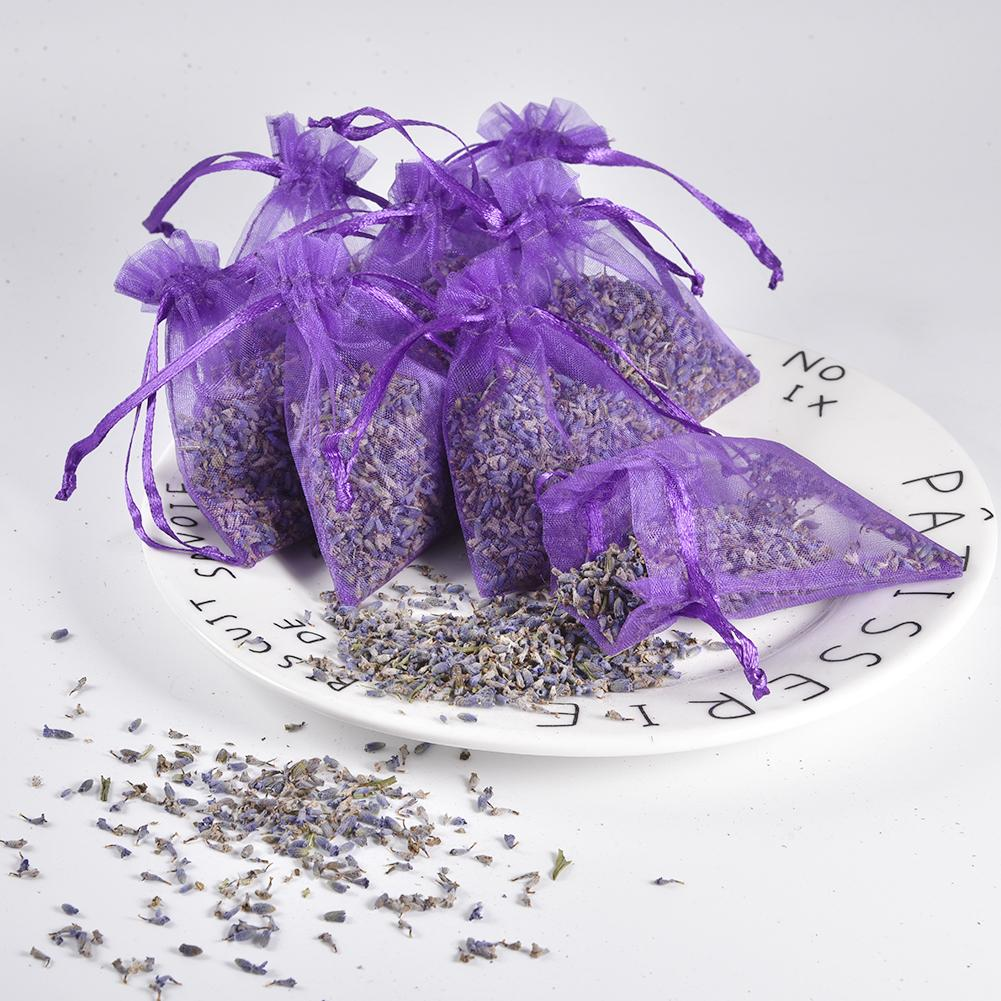 15Pcs Lavender Scented Sachets Bag For Closets Drawers Filled With Naturally Dried Lavender Flower Buds