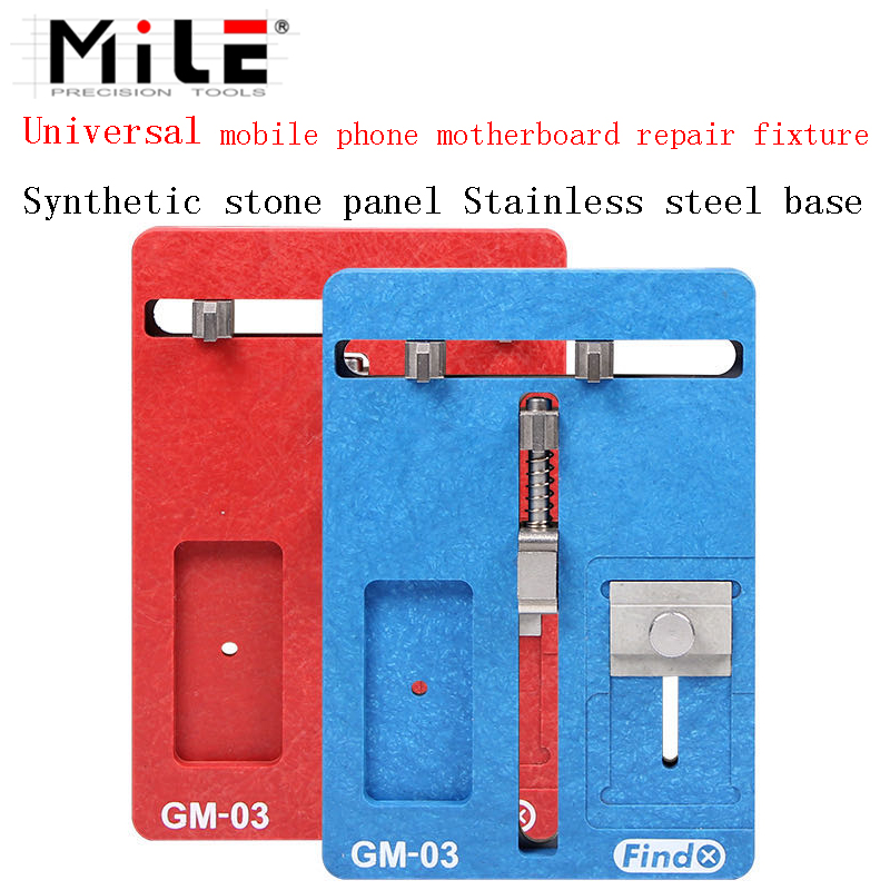MILE  Motherboard Clamps High Temperature Main Logic Board PCB BGA Fixture Holder for iPhoneA8 A9 A10 Plus Fix Repair Mold Tool