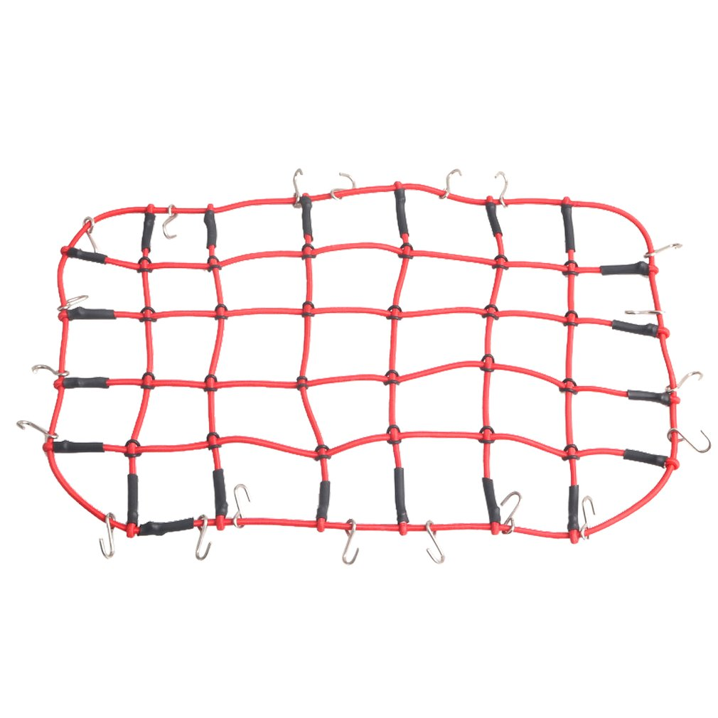 1//10 Scale RC Crawler Accessory Luggage Roof Rack Net For Axial SCX10 TRX-4 D90
