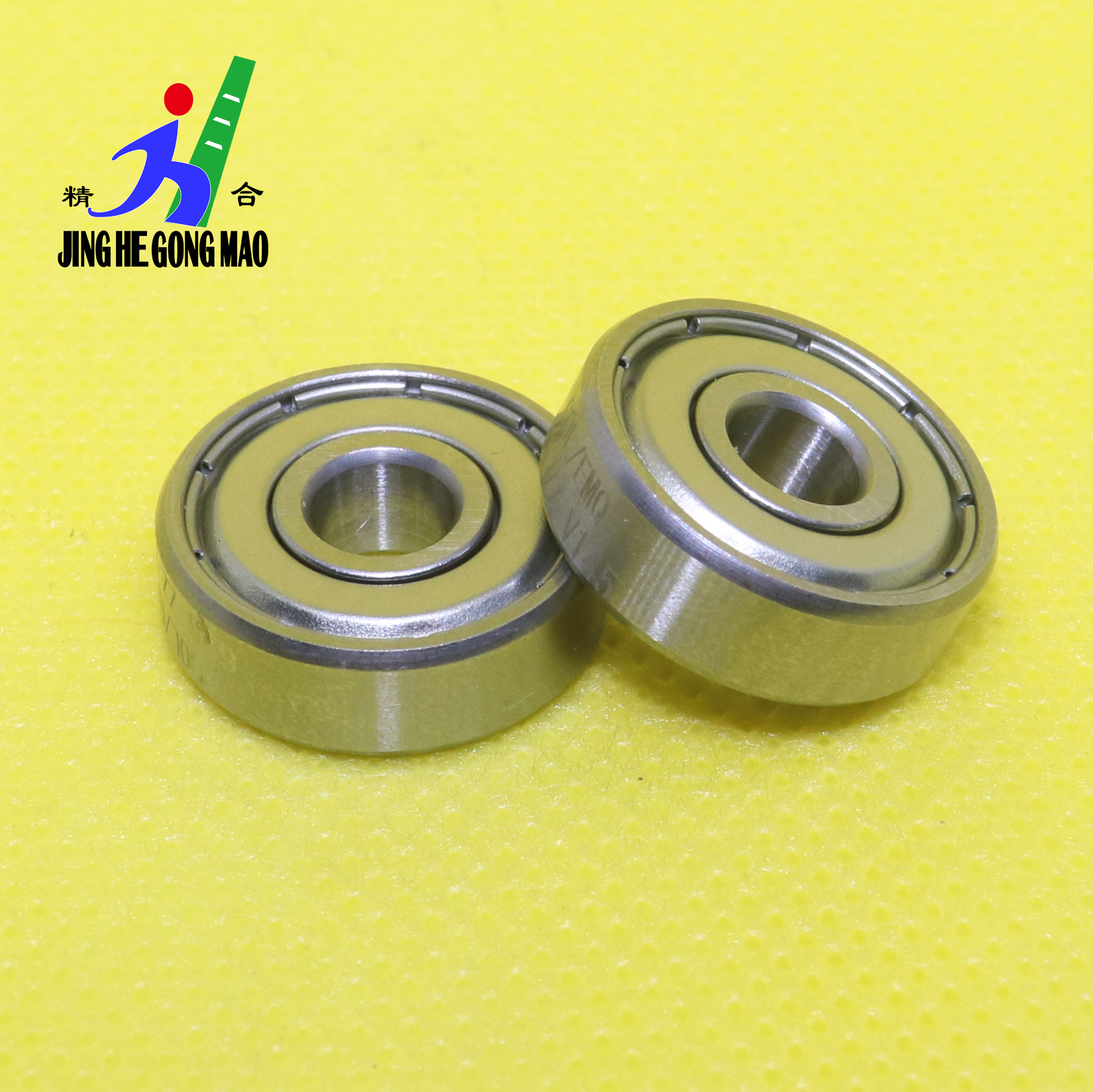 10Pcs/Lot <font><b>625ZZ</b></font> 608ZZ Deep Groove Ball Bearings Miniature Rubber Sealed Metal Shielded image