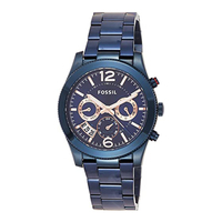 Fossil Perfect Boyfriend Multifunction Women Watches Blue Stainless Steel Watch Luxury Brand Sport Ladies Watch ES4093