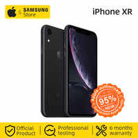 Original Apple iPhone XR Smartphone 6,1 pulgadas Retina pantalla IPS HD A12 Bionic CPU 64 GB/128GB ROM IOS 4G Lte Teléfono de Apple IP67