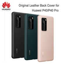 Original HUAWEI P40 P40 Pro Case PU Leather Back Cover Case Protective Shell for P40 P40 pro