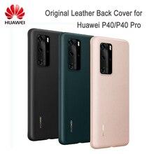 Originele Huawei P40 P40 Pro Case Pu Leather Cover Case Beschermende Shell Voor P40 P40 Pro