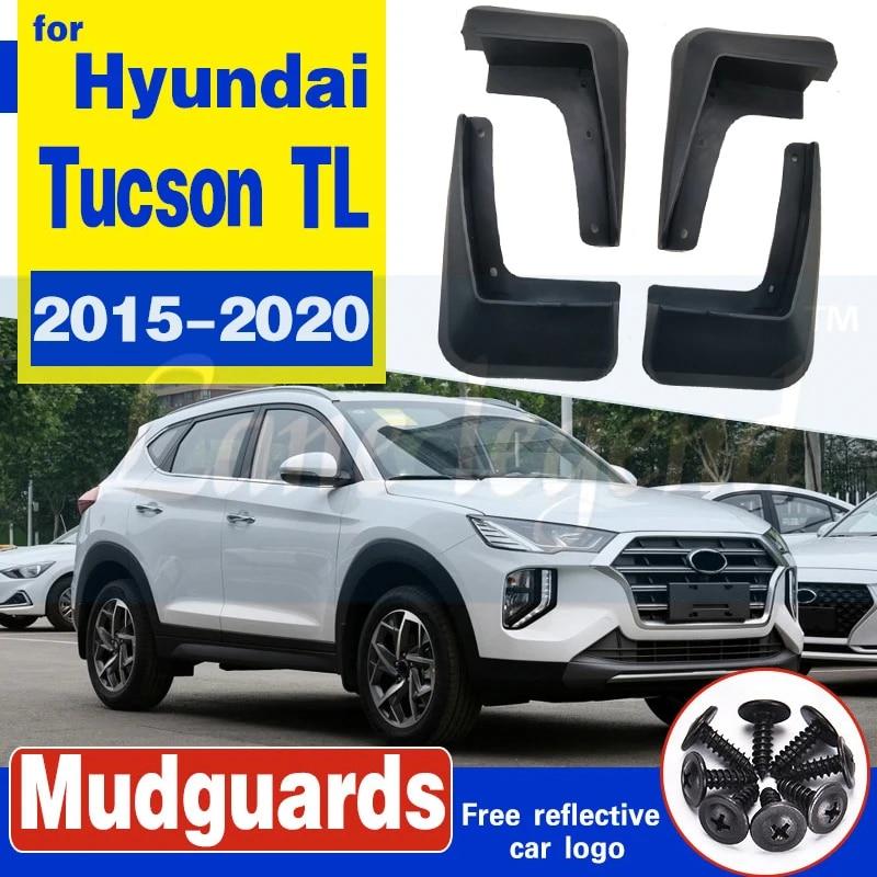 4x Car Mud Flaps Splash Guard Fender Mudguard For Hyundai Tucson 2015-2020