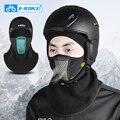 Теплая Зимняя Маска для лица  теплые флисовые лыжные головные уборы  Спортивная тренировочная полумаска для лица  теплая маска для сноуборд...