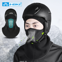 Thermal Winter Face Mask Warm Fleece Ski Headwear Sport Training Half Face Mask Neck Warmer Snowboard Mask Cycling MTB Bike Hat недорого