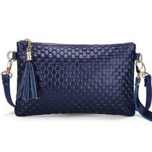 Small Shoulder Bag For Women Messenger Bags Ladies Retro PU Leather Handbag Purse With Tassels Female Crossbody Bag BUZADI
