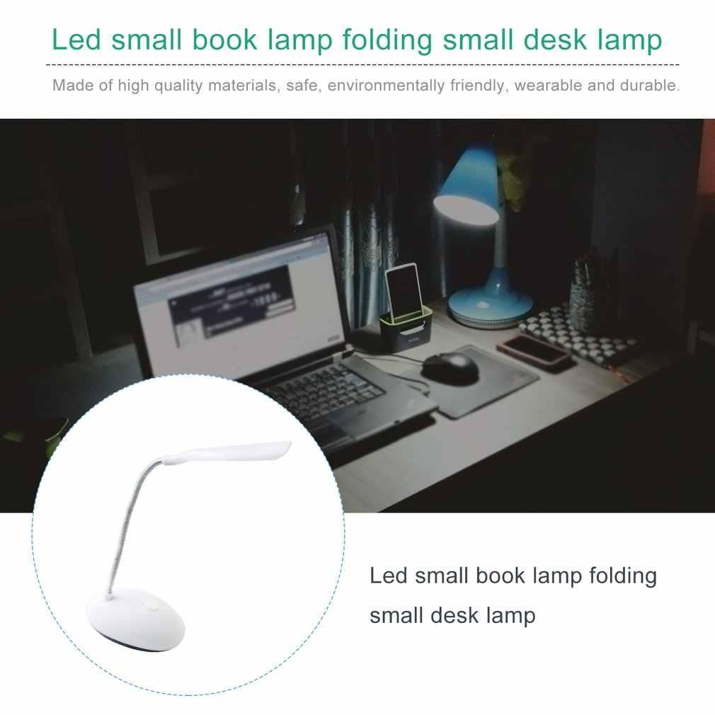 Lámpara LED plegable portátil para escritorio, protección ocular para niños, lámpara LED para estudio de lectura para estudiantes, lámpara de mesa alimentada por batería