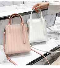 Jelly Bag Female Handbags Fashion Summer Bucket Bag Hot Sale Small PVC Women Cross-body Bag Ladies Shoulder Bags 2019 New сумка через плечо new 2014 hot canvas bucket bag female casual shoulder bag 2015 bl059