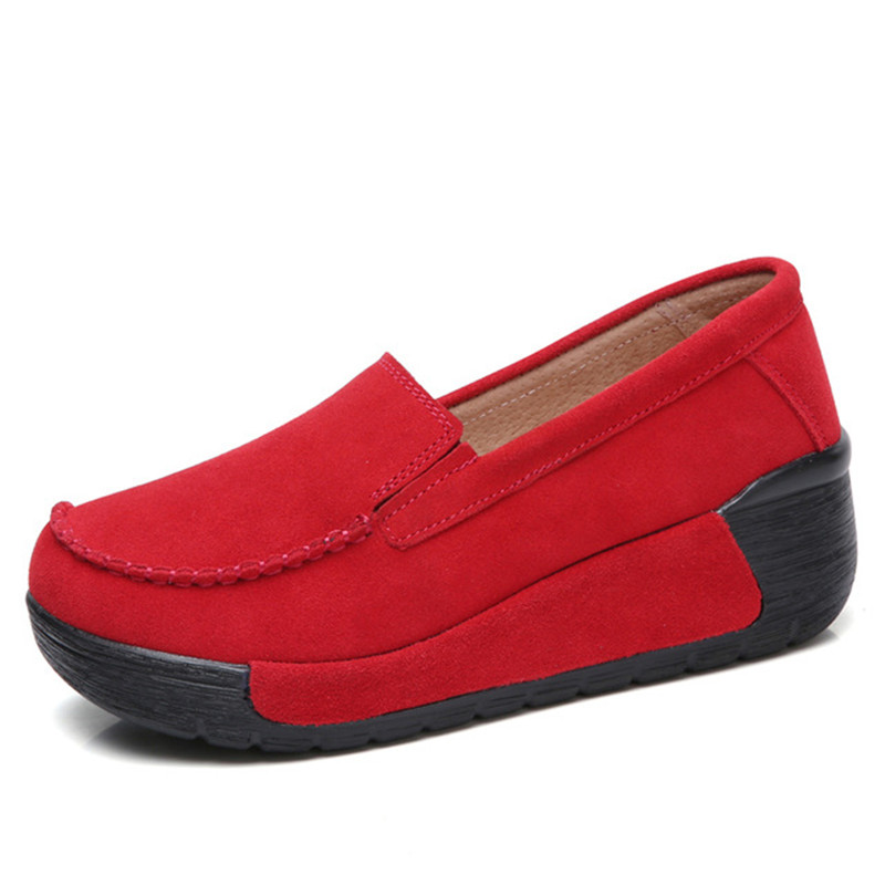 Image 2 - BEYARNEBrand Spring Autumn Loafers Women Flats Fashion Flat Platform Shoes Female Loafers Slip On Womens Ladies ShoesE961Womens Flats   -