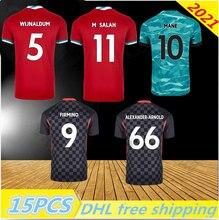 Mohamed MANE M.SALAH MHENDERSON soccer jersey football shirts 2021 A.BECKER SHAQIRI