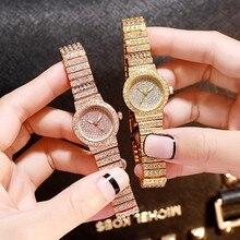 Luxury Crystal Diamond Women Watches Ladies Dress Wristwatch Fashion Quartz Woman Bracelet Watch Feminino Relogio Reloj Mujer