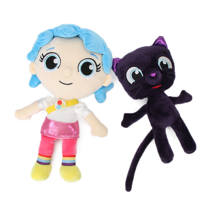 25-30cm Girl True And Bartleby Plush Toy Bartleby Cat True And The Rainbow Kingdom Toys Frookie King Zee Stuffed Dolls Gifts