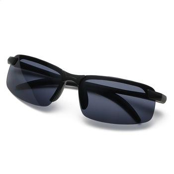 Nowy 304 mężczyźni okulary dzień jazda nocą okulary do jazdy okulary kolarstwo na świeżym powietrzu okulary wędkarskie okulary okulary klip tanie i dobre opinie CN (pochodzenie) Ochrona przed promieniowaniem UV