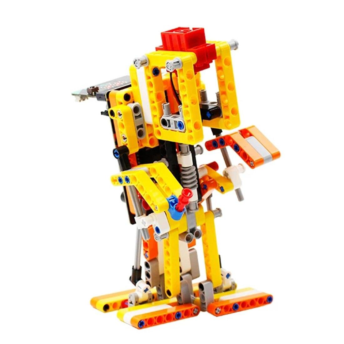 Program Intelligent Walking Robot Kit Steam Programming Education Robot For Micro:Bit Programable Toys For Men Kids Gift