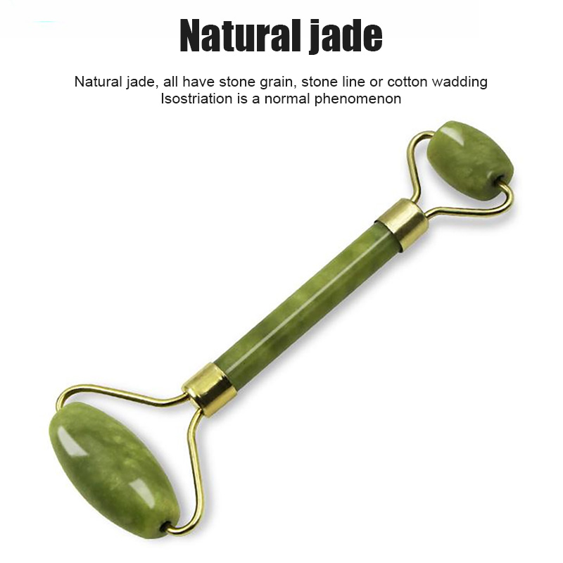 Massager For Face Jade Roller Facial Skin Care Tools Natural Gouache Scraper Body Back Beauty Slimming Massagers Lift Tools 6