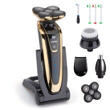 5D מכונת גילוח לגברים חשמלית חשמלי גילוח נטענת גברים של גילוח מכונת בירד מכונת גילוח אלחוטי להשתמש 35D