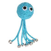 Синий Осьминог Форма жевательные игрушки для питомцев сотканный