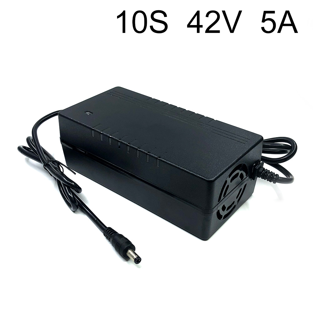 42V 5A <font><b>charger</b></font> 18650 10 Series <font><b>10S</b></font> Li-ion battery <font><b>charger</b></font> Electric vehicles dedicated <font><b>36V</b></font> 5A Polymer image