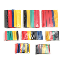 цена на 328pcs RC Battery 2:1 Polyolefin Shrinking Assorted Heat Shrink Tube Wrap Wire Cable Insulated Sleeving Tubing Set