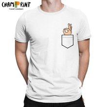 Camiseta de presente de aniversário dos t dos homens do vintage da luva curta dos topos 100% do algodão
