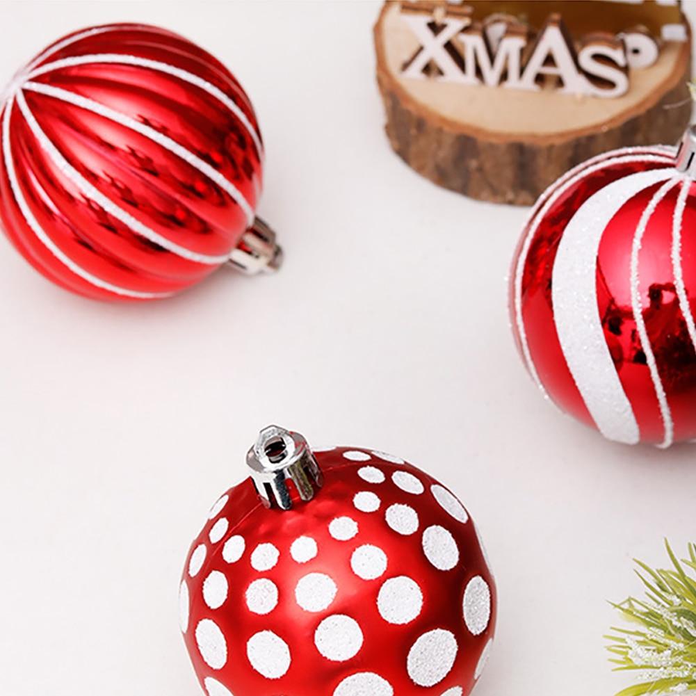 30 шт/лот 60 мм Декор рождественской елки шар безделушка рождественские