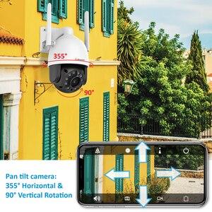Image 5 - Jennov 2MP אבטחת IP אלחוטי מצלמה 1080P שני דרך אודיו וידאו מעקבים WIFI HD עמיד IR לחתוך מחוץ ONVIF