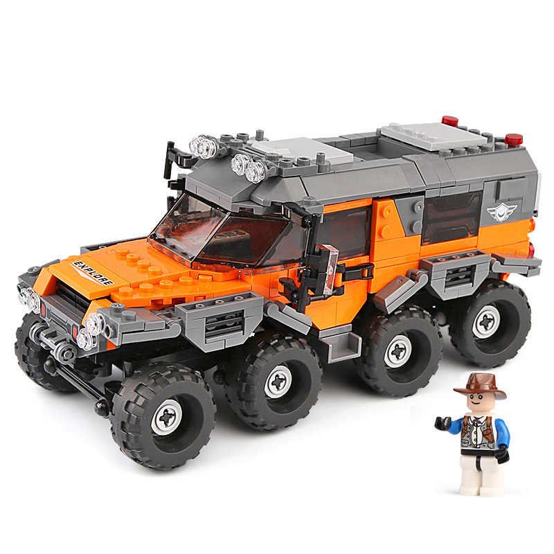 529pcs את כל שטח רכב אבני בניין תואם Legoed טכני משאית רכב החינוכי צעצוע ילד מתנה Xingbao 03027