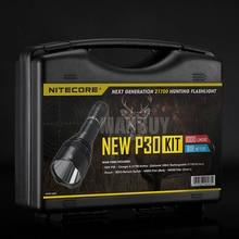2020 Discount NITECORE 1000LMs CREE LED newP30 HUNTING KIT Tactical Ultra High Intensity Flashlight Lantern BoxSet Free Shipping