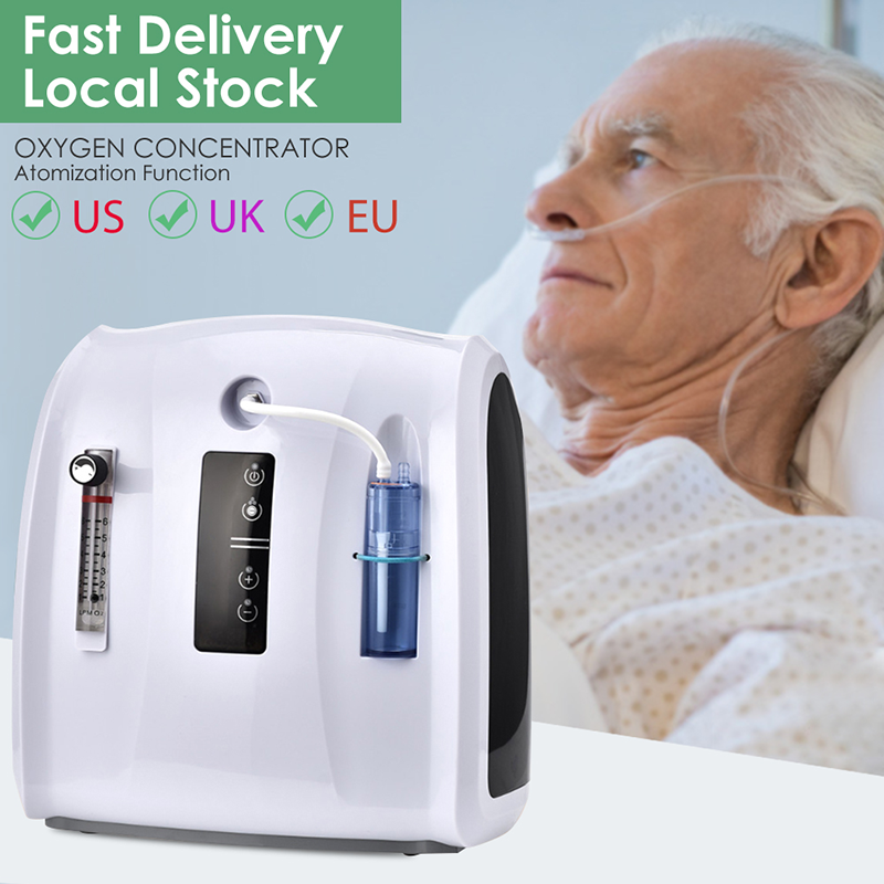 AC 110V/220V концентратор кислорода машина 1 6L/мин регулируемая Портативный кислородная машина для дома и путешествий Применение без Батарея|Очистители воздуха|   | АлиЭкспресс