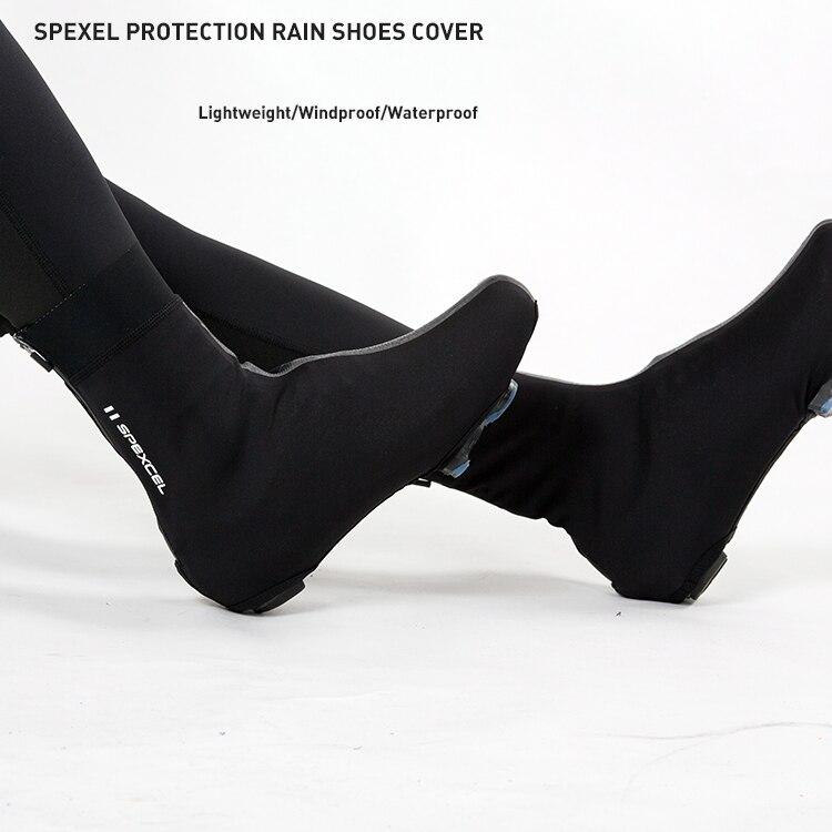SPEXCEL ALL NEW pro team lekki pokrowiec przeciwdeszczowy Race wiatroodporny pokrowiec na buty softshell na zimne i mokre warunki