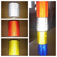 Strip-Stickers Road-Safety-Tape Reflective Road-Warning Car Film 100x5cm Motorcycle Baby