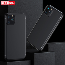 matte case for iPhone 11 11Pro Max Cover Soft TPU MOFi iphone 11 ultra-thin case silicone black back slim protective case Coque стоимость