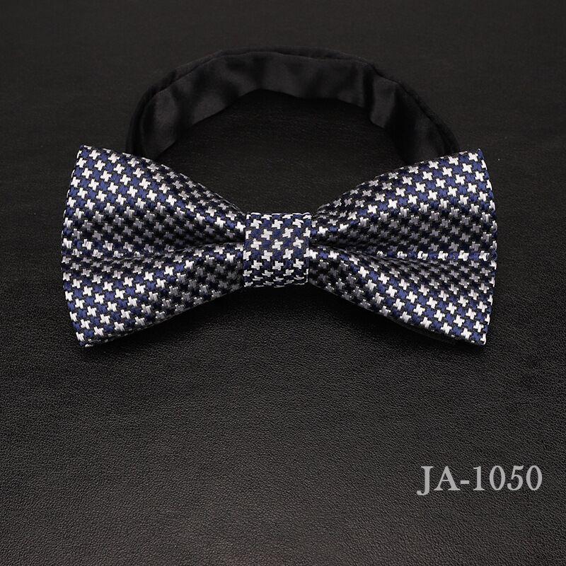 Дизайнерский галстук-бабочка, высокое качество, мода, мужская рубашка, аксессуары, темно-синий, в горошек, галстук-бабочка для свадьбы, для мужчин,, вечерние, деловые, официальные - Цвет: 1050