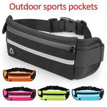 Runner Waist Belt Bag Pack Pouch Bum Sport Jogging Universal
