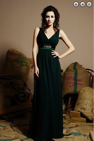free shipping dinner dress Formal Evening 2016 sexy vestidos de fiesta brides maid dress formales green long dress evening gowns