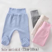 Noworodka Unisex wysokiej talii spodnie dla niemowląt 0-6-24M spodnie bawełniane dla niemowląt niemowlę Boys Baby dziewczyny torba spodnie długie nawet skarpetki legginsy dziecięce tanie tanio NoEnName_Null Stałe Dla dzieci REGULAR 19095 Pełnej długości COTTON spandex Nowoczesne Pasuje prawda na wymiar weź swój normalny rozmiar