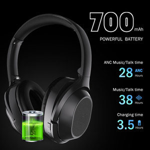 Image 5 - Langsdom BT25 Active Noise Cancelling Draadloze Bluetooth Hoofdtelefoon Anc Hifi 3D Gaming Headset Hoofdtelefoon Voor Pubg Overwatch