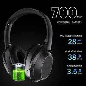 Image 5 - Langsdom BT25 activa de ruido cancelación de auriculares inalámbricos con Bluetooth ANC Hifi 3D de juego de auriculares para PUBG Overwatch