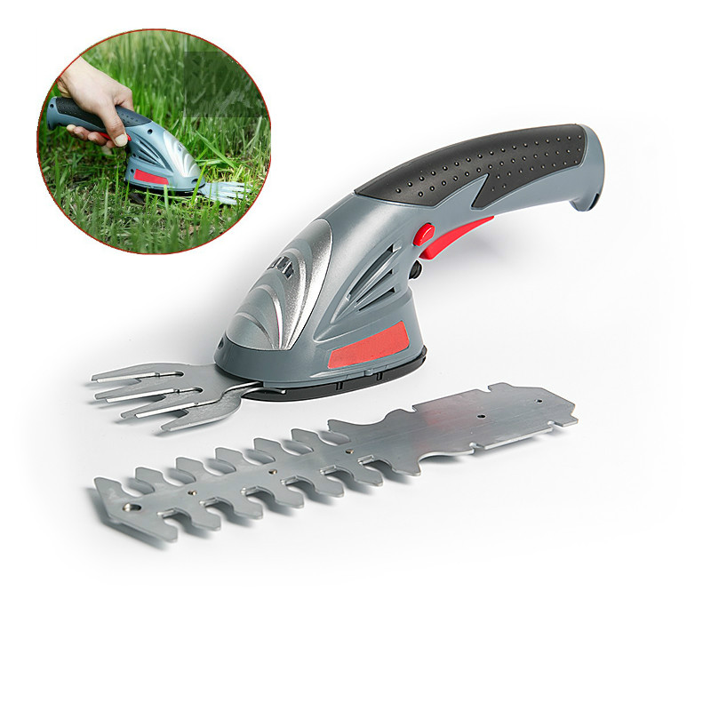 3 6V Electric Grass Trimmer 2 In 1 Lithium-ion Battery Cordless Garden Tools Hedge Trimmer Rechargeable Hedge Trimmers