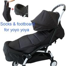 baby stroller accessories winter footmuff warm sleeping bag with waterproof function and extend foot board for Babyzen yoyo yoya