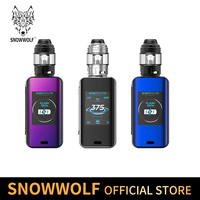 Vape KIT Fast charging built in 5000Ahm 35 min charging full Snowwolf Zephyr 200W Kit E Electronic Cigarette Super Power