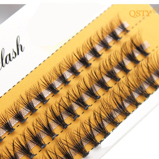 1 Set 0.07 C 20D Beauty Women Girls False Eyelashes Wave Individual Eyelash Extension Mink Black Soft False Eye Lashes 8/10/12mm 3
