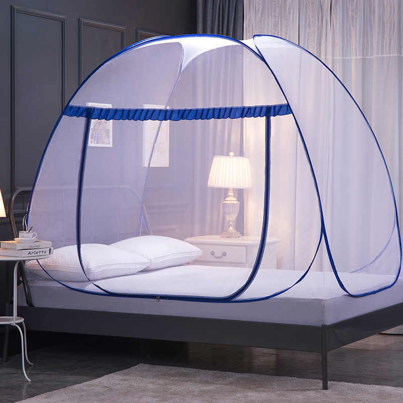 Fully Automatic Mosquito Net , Fully Automatic Mosquito-proof Cloth, Foldable, Fast and Installation-free  Yurt Mosquito Net