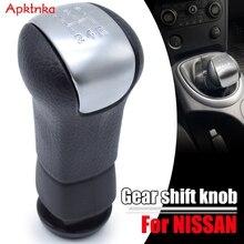 Apktnka 5 מהירות MT רכב Gear Shift Knob עבור ניסן הקאשקאי J10 x טרייל הידני שיפטר מנוף מקל עט זרוע ראש כדור