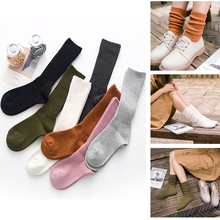 1/2Pair Cotton Socks Autumn and Winter Warm Women High Ankle Femininas Loose Comfortable Calcetines